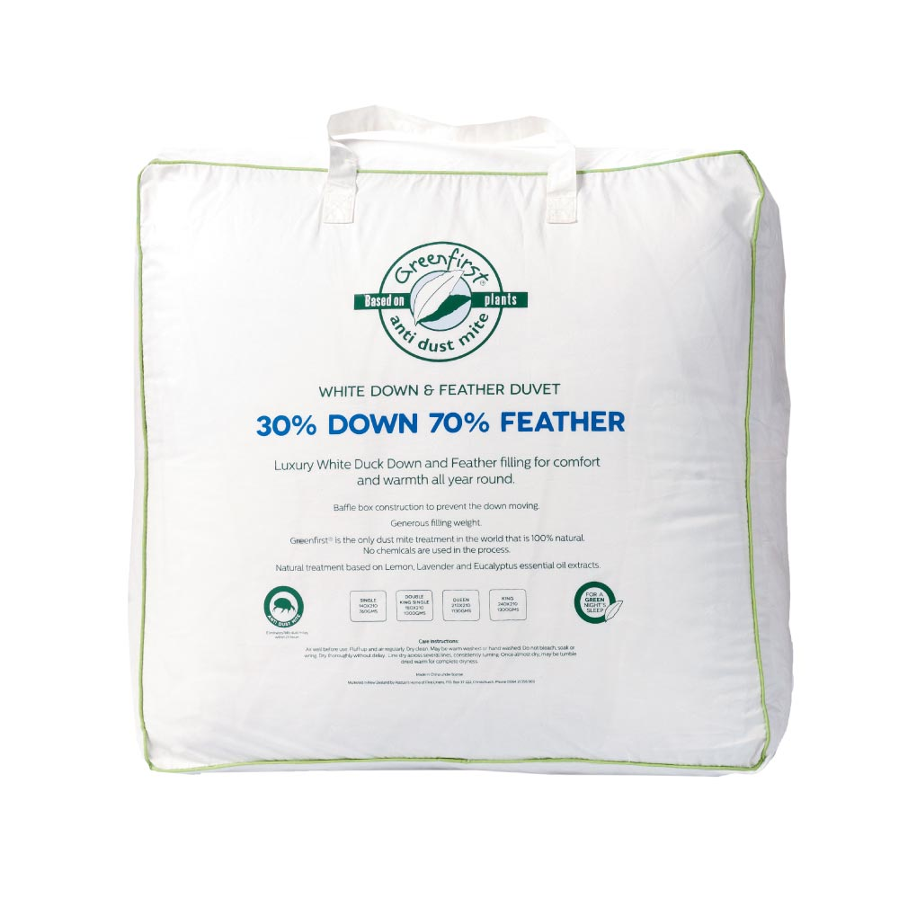 Greenfirst® 30/70 Feather & Down Duvet