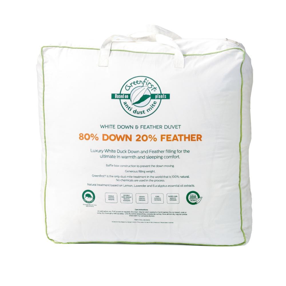 Greenfirst® 80/20 Feather & Down Duvet