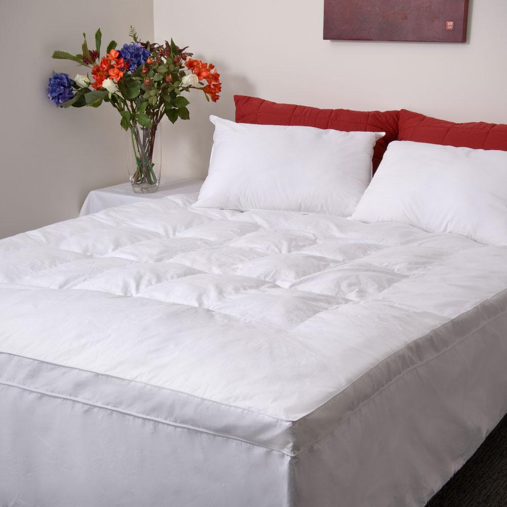 Platinum Fibre Mattress Topper 100% Cotton Cover
