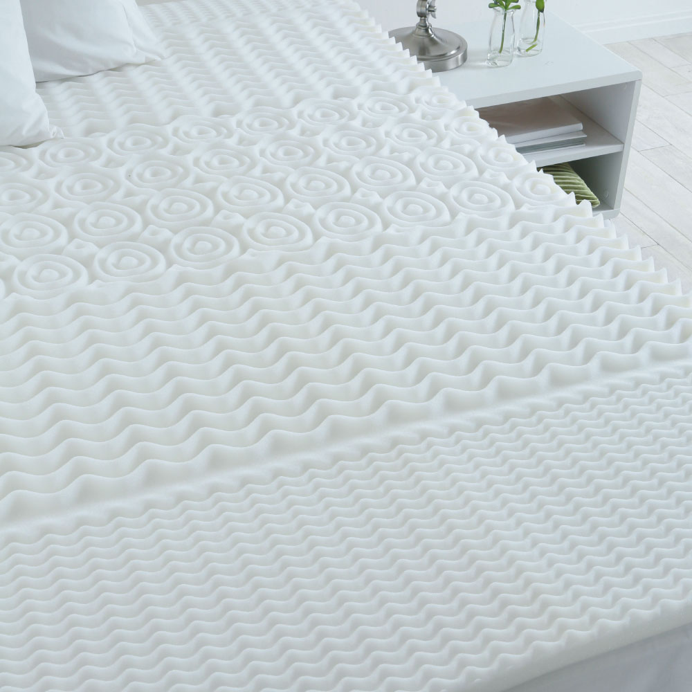 Sleep Support 5 Zone Foam Mattress Overlay