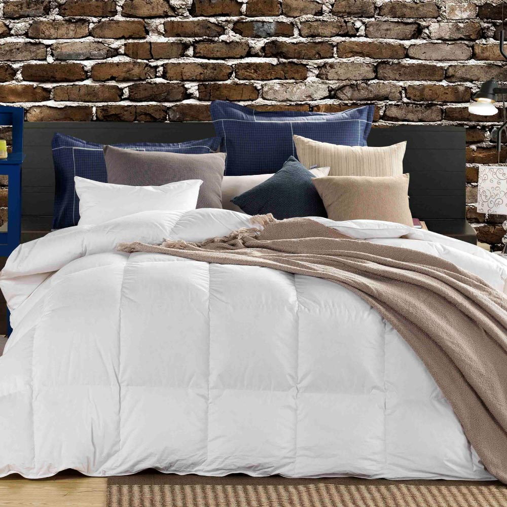 White Goose Down Duvet 85/15